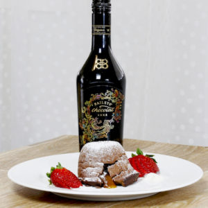 Baileys Chocolate Caramel Lava Cakes