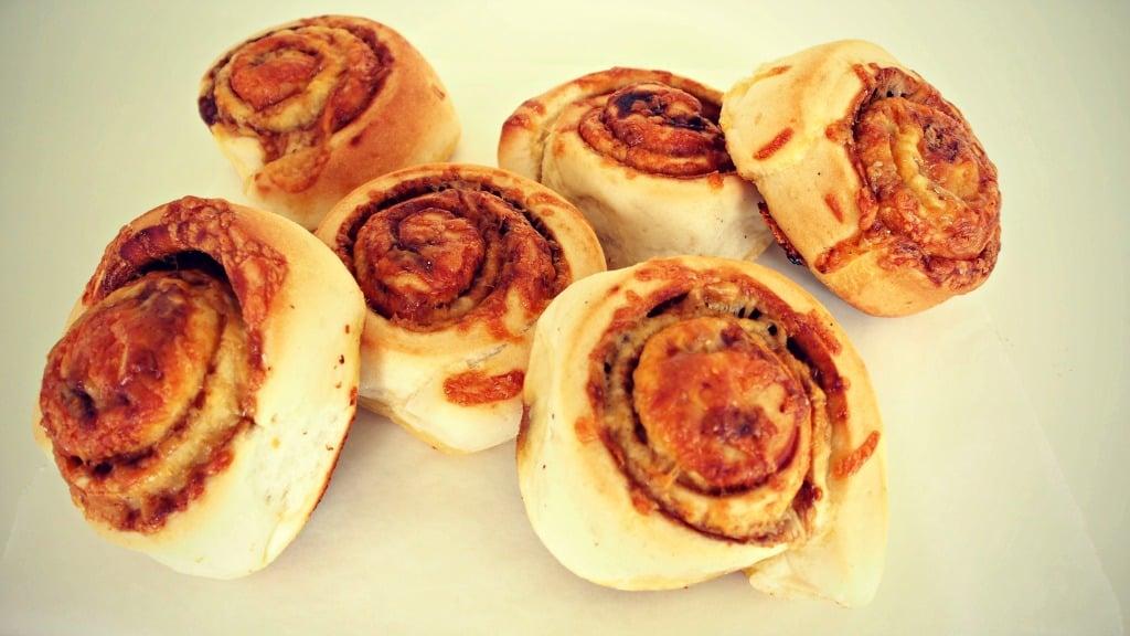 Cheesy Vegemite Scrolls | Stay At Home Mum