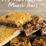 How to Make Homemade Muesli Bars   Stay at Home Mum.com.au