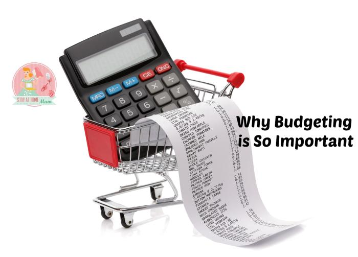 Why Budgeting is So Important