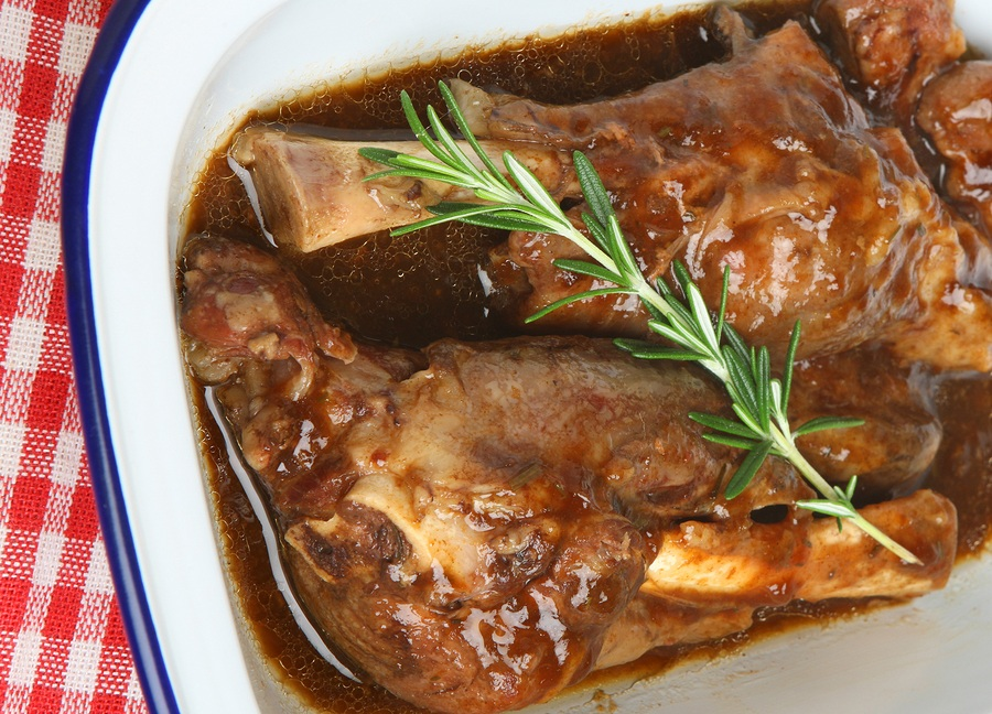 Slow Cooker Lamb Shanks with Rosemary Gravy | Stay at Home Mum