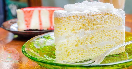 White Chocolate Mud Cake | Stay at Home Mum.com.au