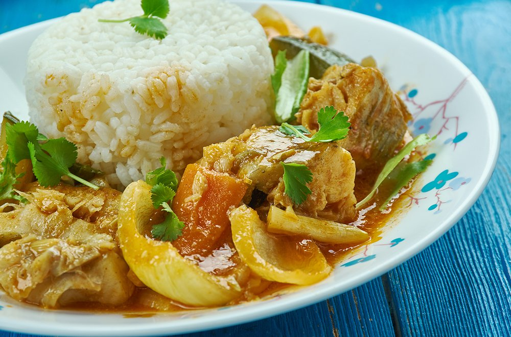 Quick Fish Curry