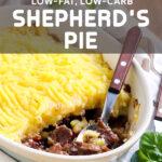 Low-Fat, Low-Carb Shepherd's Pie
