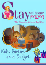 Kids Birthday Party E-Book Cover