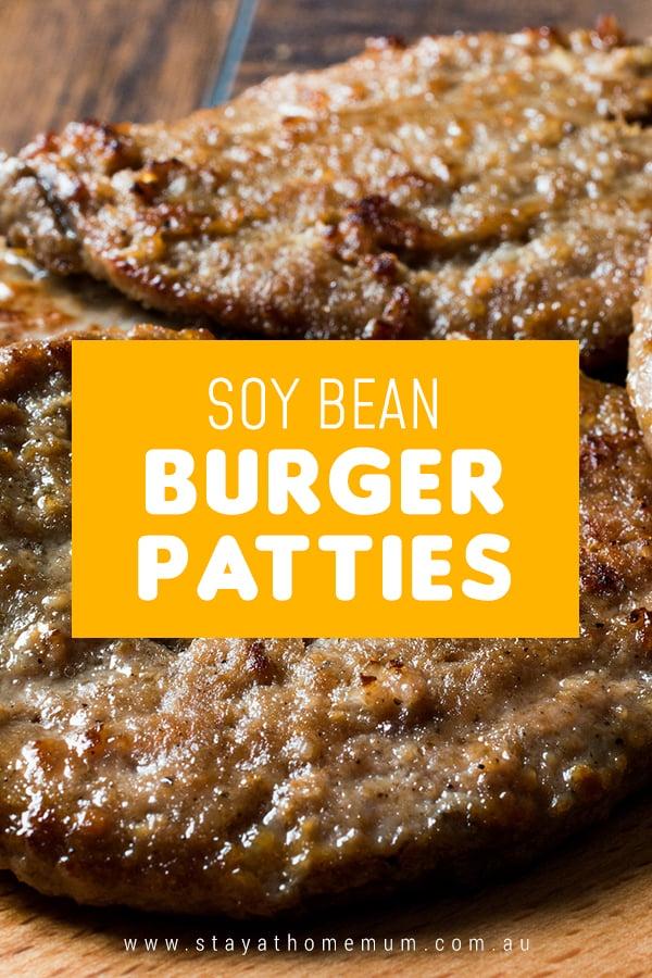 Soy Bean Burger Patties