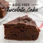Egg Free Chocolate Cake | Stay at Home Mum.com.au