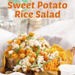 Roasted Sweet Potato Rice Salad   Stay at Home Mum.com.au