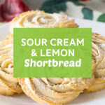 Sour Cream and Lemon Shortbread | Stay at Home Mum.com.au