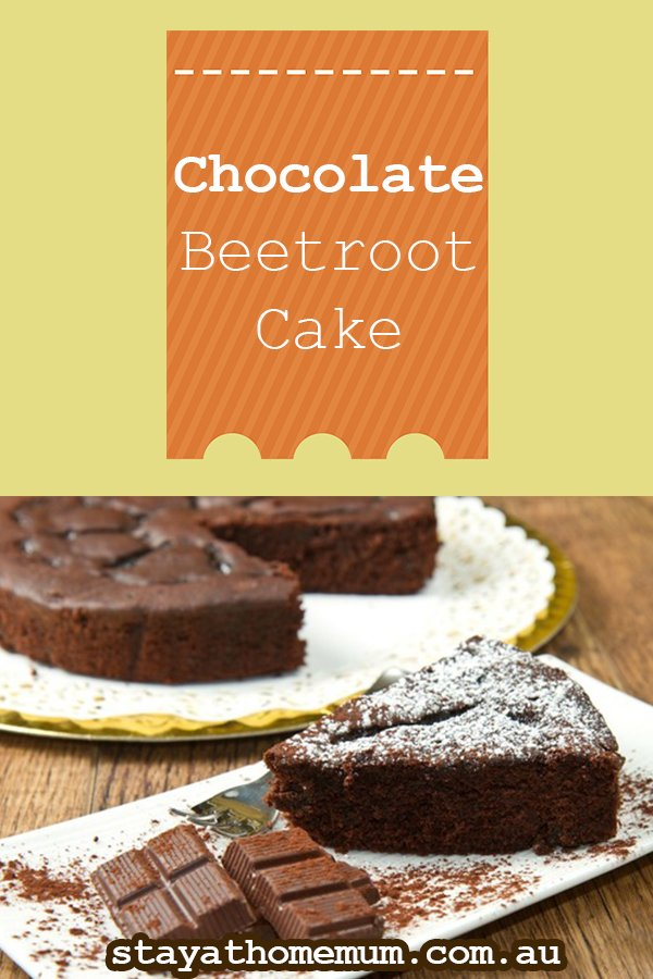 Beetroot And Chocolate Cake Healthy
