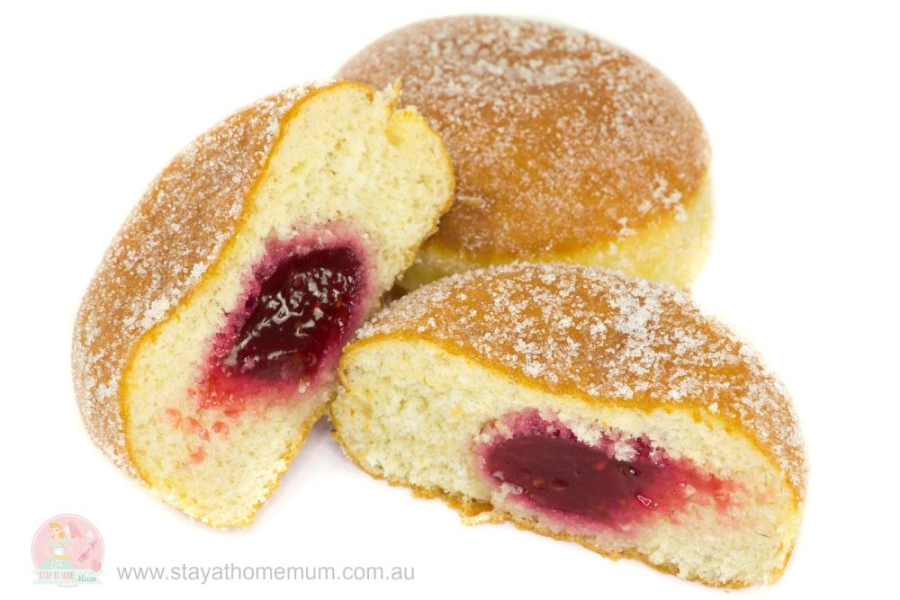 Jam Doughnuts Stay At Home Mum