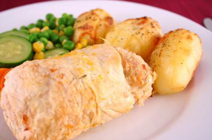 Crispy Chicken Rolls