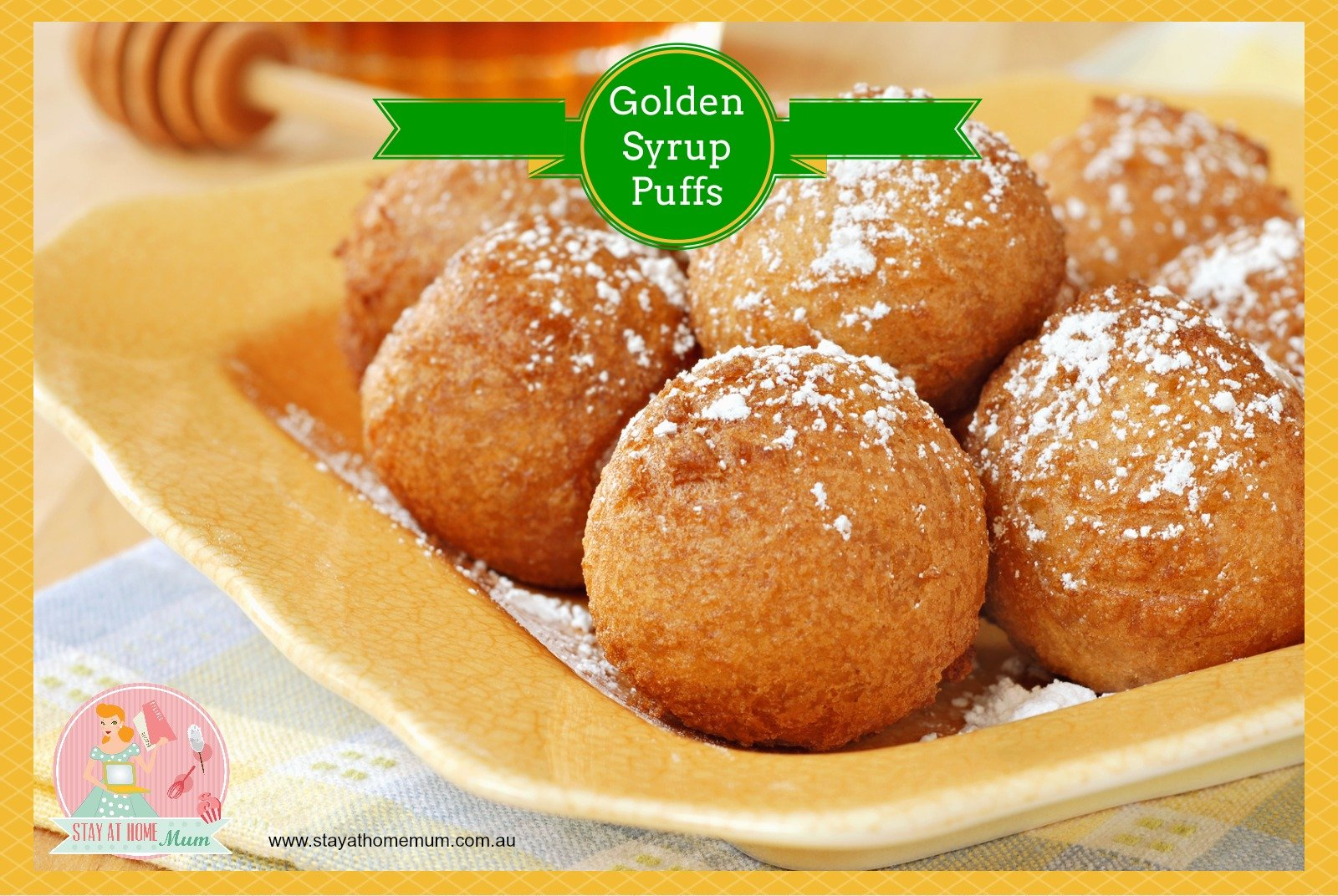 Golden Syrup Puffs Stay At Home Mum