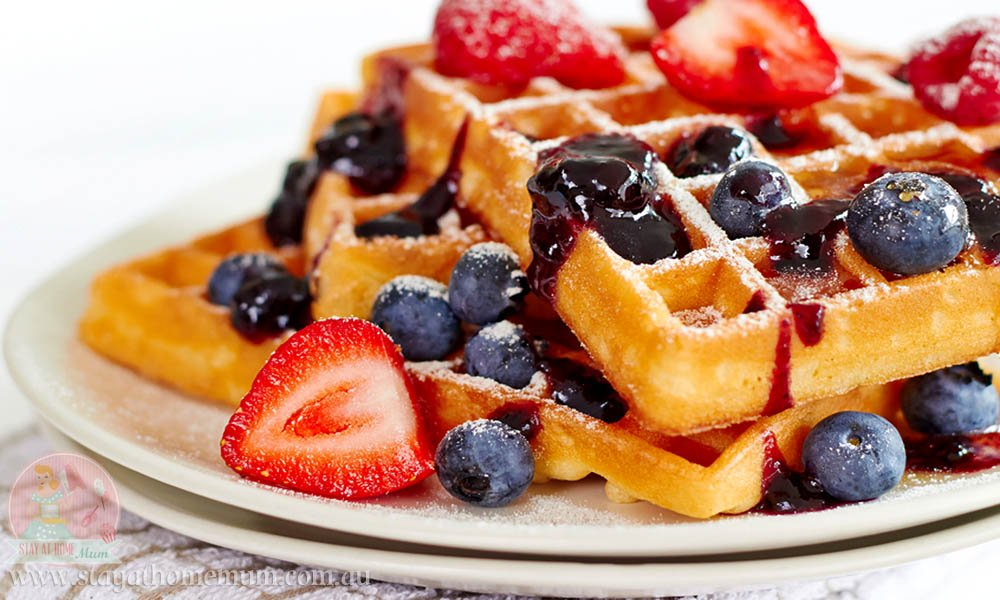 Breakfast Waffles Stay At Home Mum