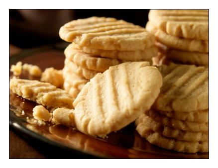 Gluten Free Peanut Butter Biscuits