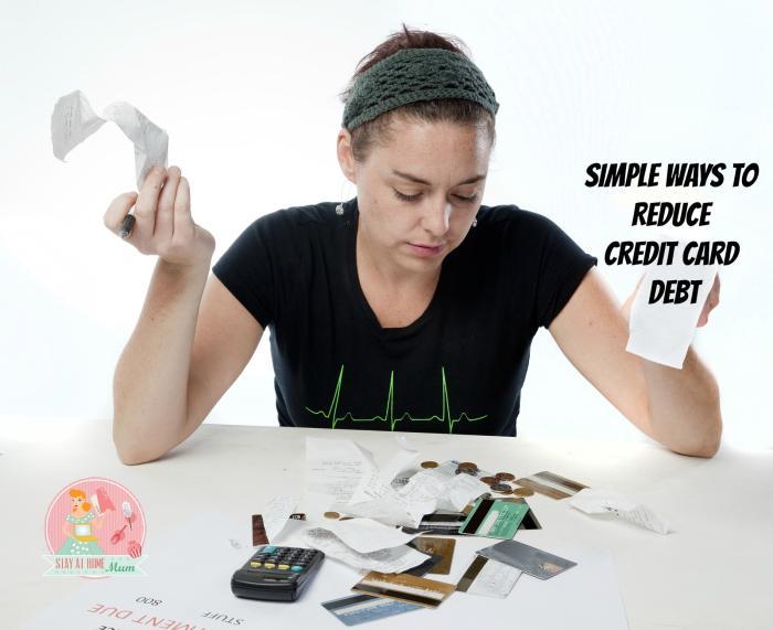 6 Simple Ways to Reduce Credit Card Debt