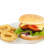 burger and onion rings1 | Stay at Home Mum.com.au