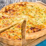 Simple four ingredient onion tart    Stay at Home Mum
