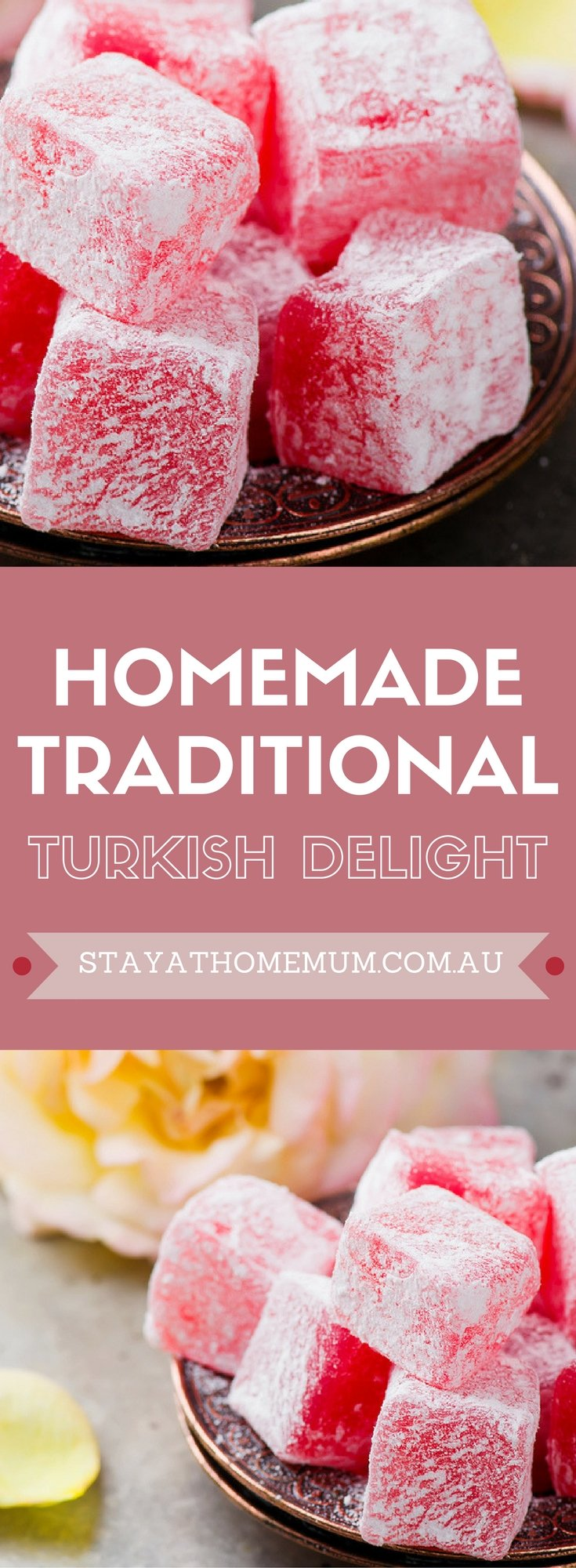 Homemade Traditional Turkish Delight