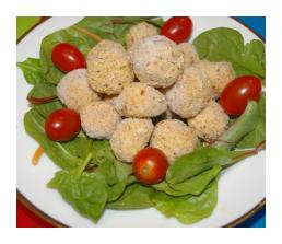 Rice and Chickpea Balls
