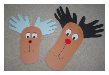 Hands and Feet Rudolf