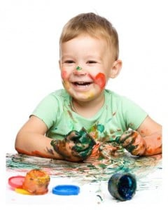 Messy Play | Stay at Home Mum