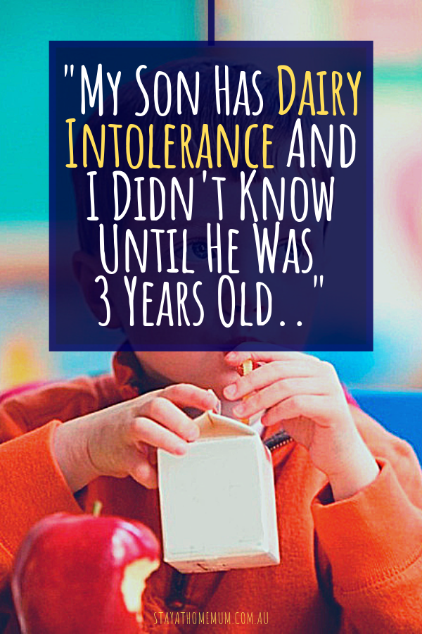 I Didn't Know: My Son Has Dairy Intolerance And He Suffered For 3 Years