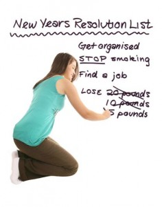 Keeping New Year Resolutions | Stay at Home Mum
