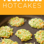 Vegetable Hotcakes 1   Stay at Home Mum.com.au