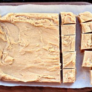 3 Ingredient Basic Vanilla Fudge