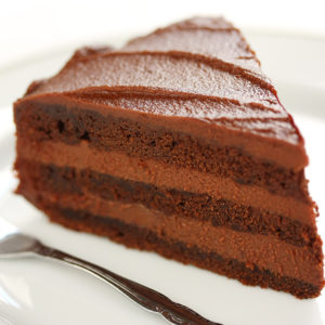 Gluten-Free Devils Food Cake