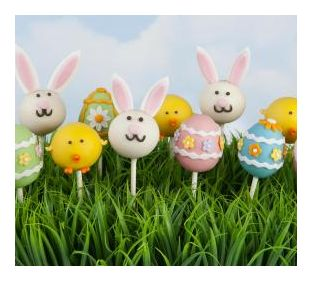 Chicken and Bunny Cake Pops