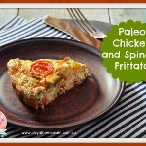 Paleo Chicken and Spinach Frittata