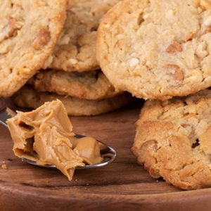 Easter Style Peanut Butter Cookies