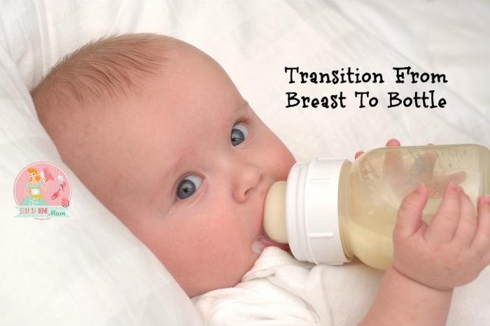 Transitioning From Breast To Bottle Stay At Home Mum