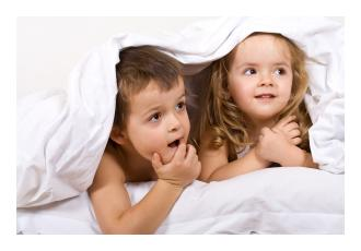 Reading a bedtime story can help get your child off to sleep sooner.