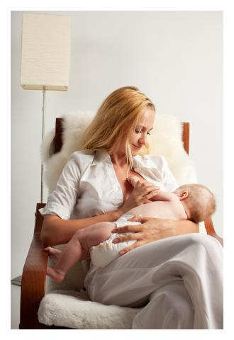 Breast feeding and birth control
