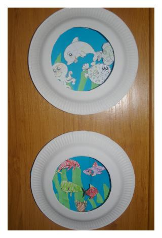 Paper Plate Aquarium | Stay At Home Mum