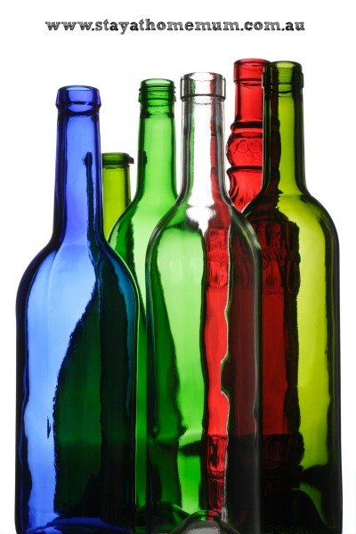 Ten uses for empty wine bottles stay at home mum for Creative ideas for empty wine bottles