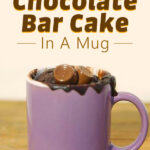 Rolo Chocolate Bar Cake In A Mug
