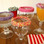 Sprinkle Frosted Glasses | Stay at Home Mum