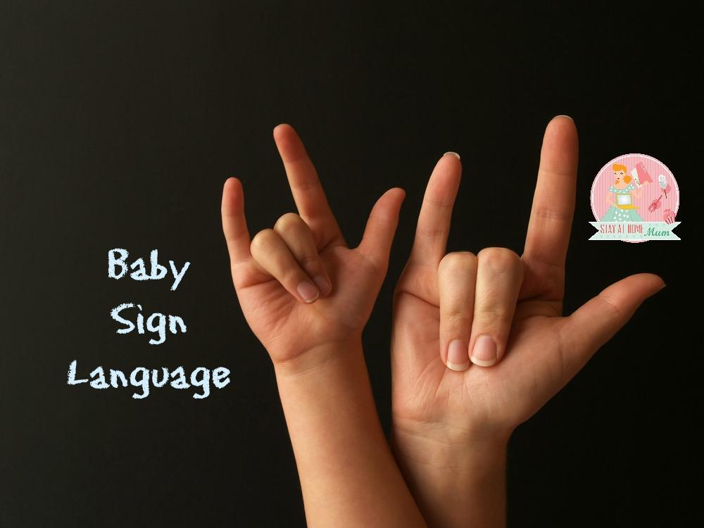 Baby Sign Language Stay At Home Mum