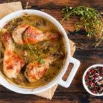 Chicken and Mushroom Bake | Stay At Home Mum