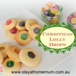 Christmas Lolly Drops | Stay at Home Mum