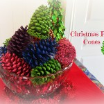 Christmas Pine Cones   Stay at Home Mum
