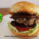 Homemade Hamburger | Stay at Home Mum