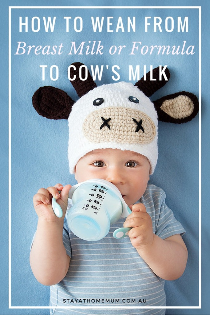 How to Wean from Breast Milk or Formula to Cow's Milk | Stay At Home Mum