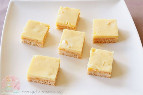 pineapple jelly slice fp | Stay at Home Mum.com.au