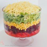 Layered Garden Salad | Stay at Home Mum