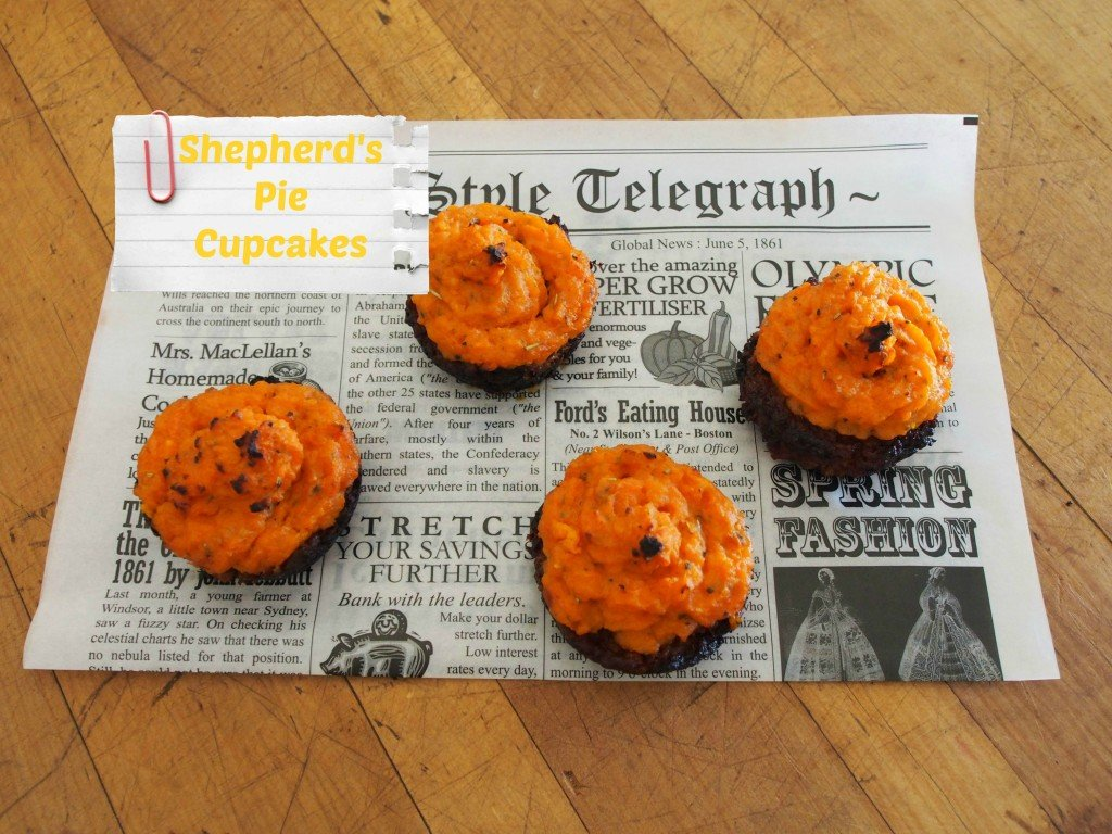 Shepherd's Pie Cupcakes | Stay at Home Mum